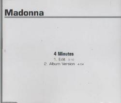 SINGLE: Madonna - 4 Minutes